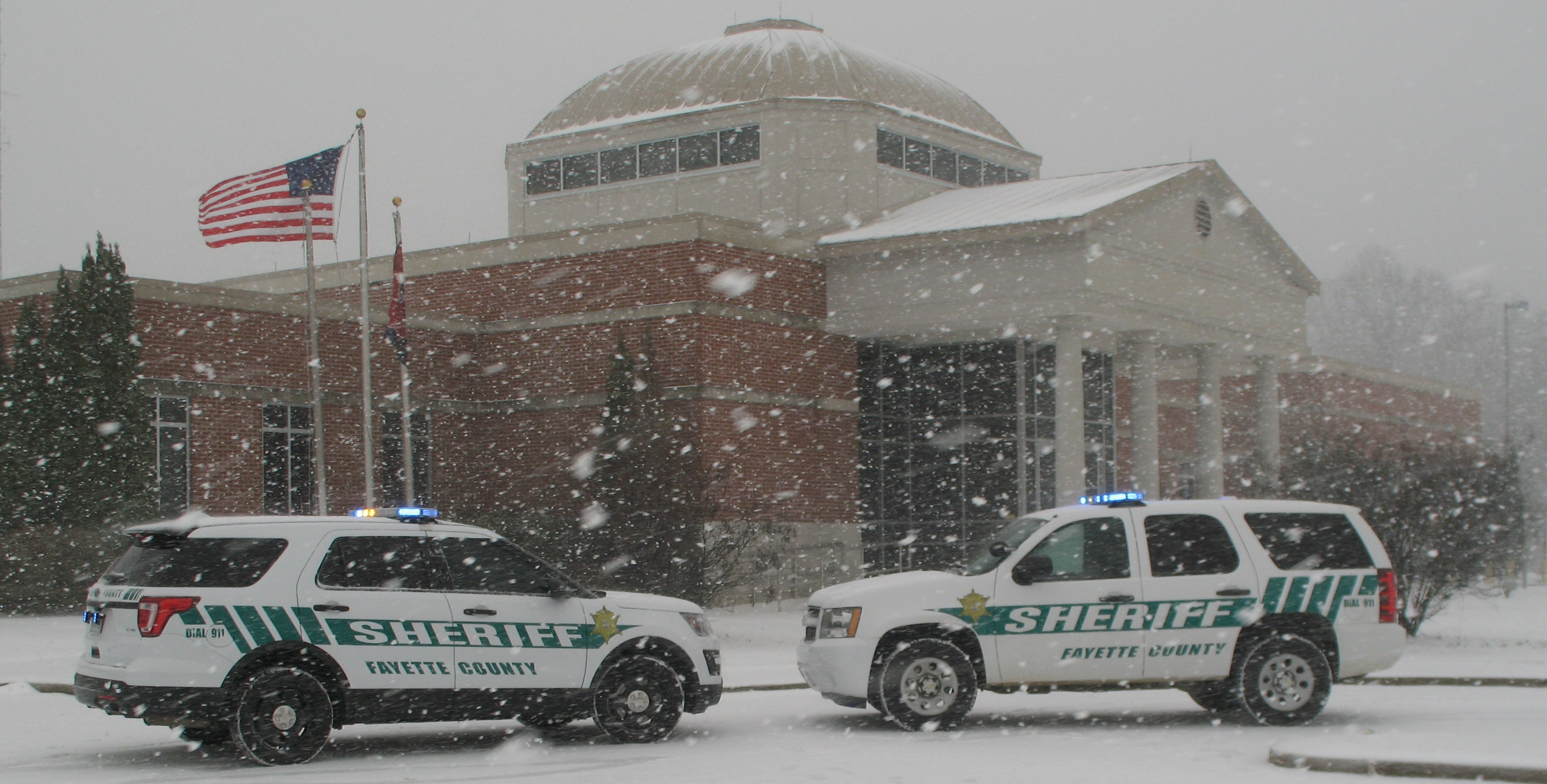 Winter at the Sheriff's Office